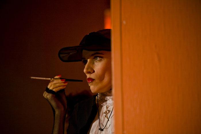 На фото: Ирина Обидина в роли Агаты